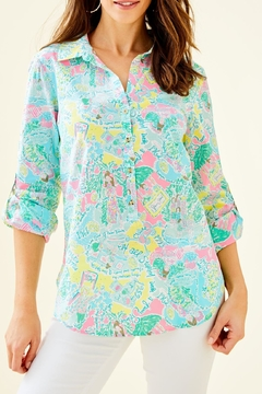 Lilly Pulitzer Captiva Tunic Top - Product List Image