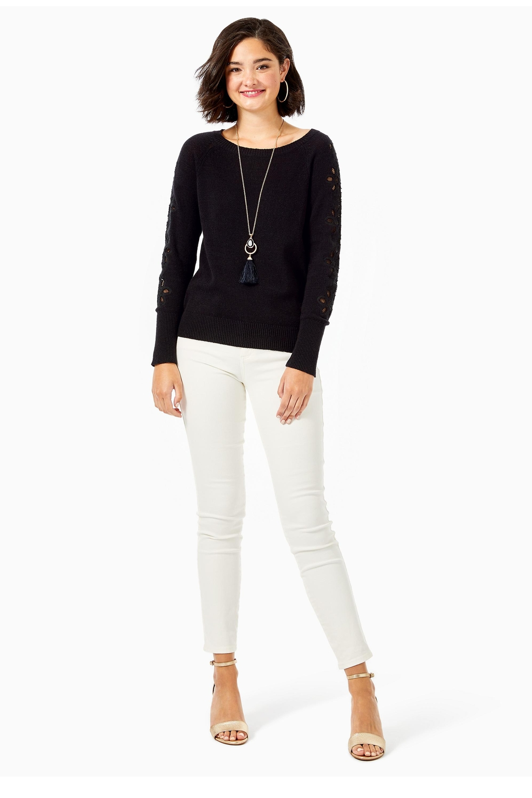 Lilly Pulitzer Cargile Sweater - Back Cropped Image