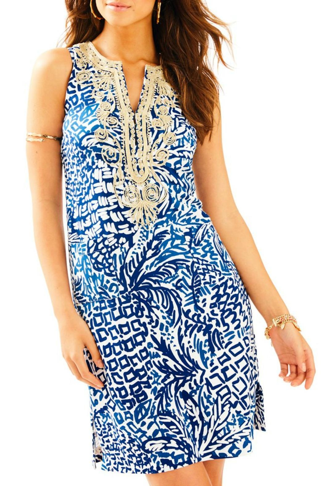 Lilly Pulitzer Carlotta Shift Dress - Front Cropped Image