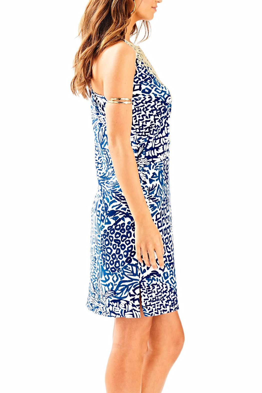 Lilly Pulitzer Carlotta Shift Dress - Side Cropped Image