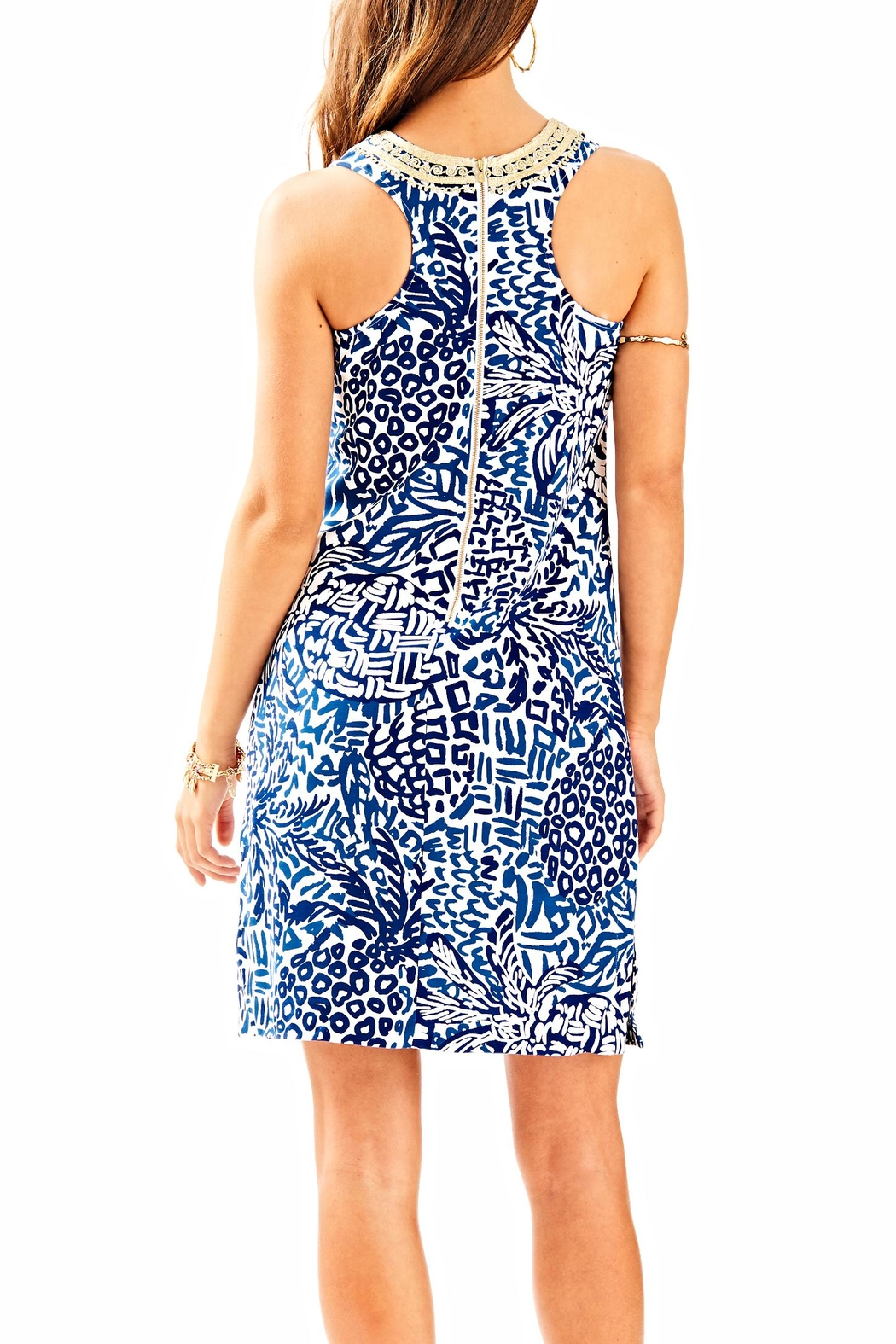 Lilly Pulitzer Carlotta Shift Dress - Front Full Image