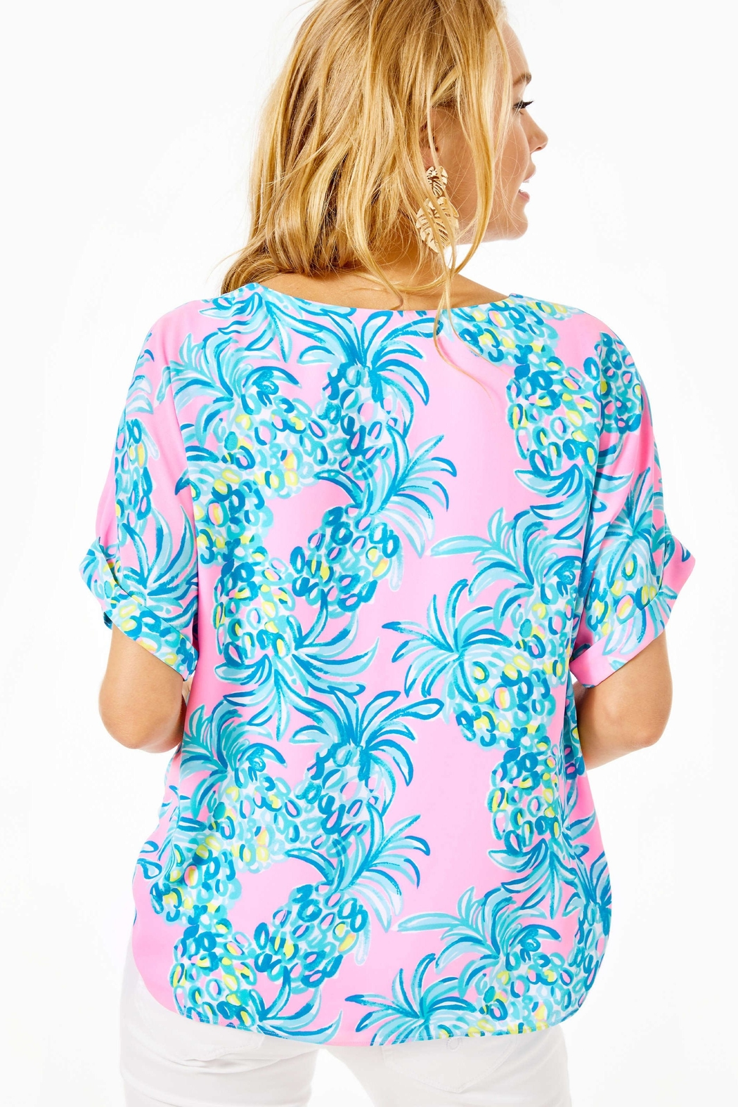Lilly Pulitzer Casden Top - Front Full Image