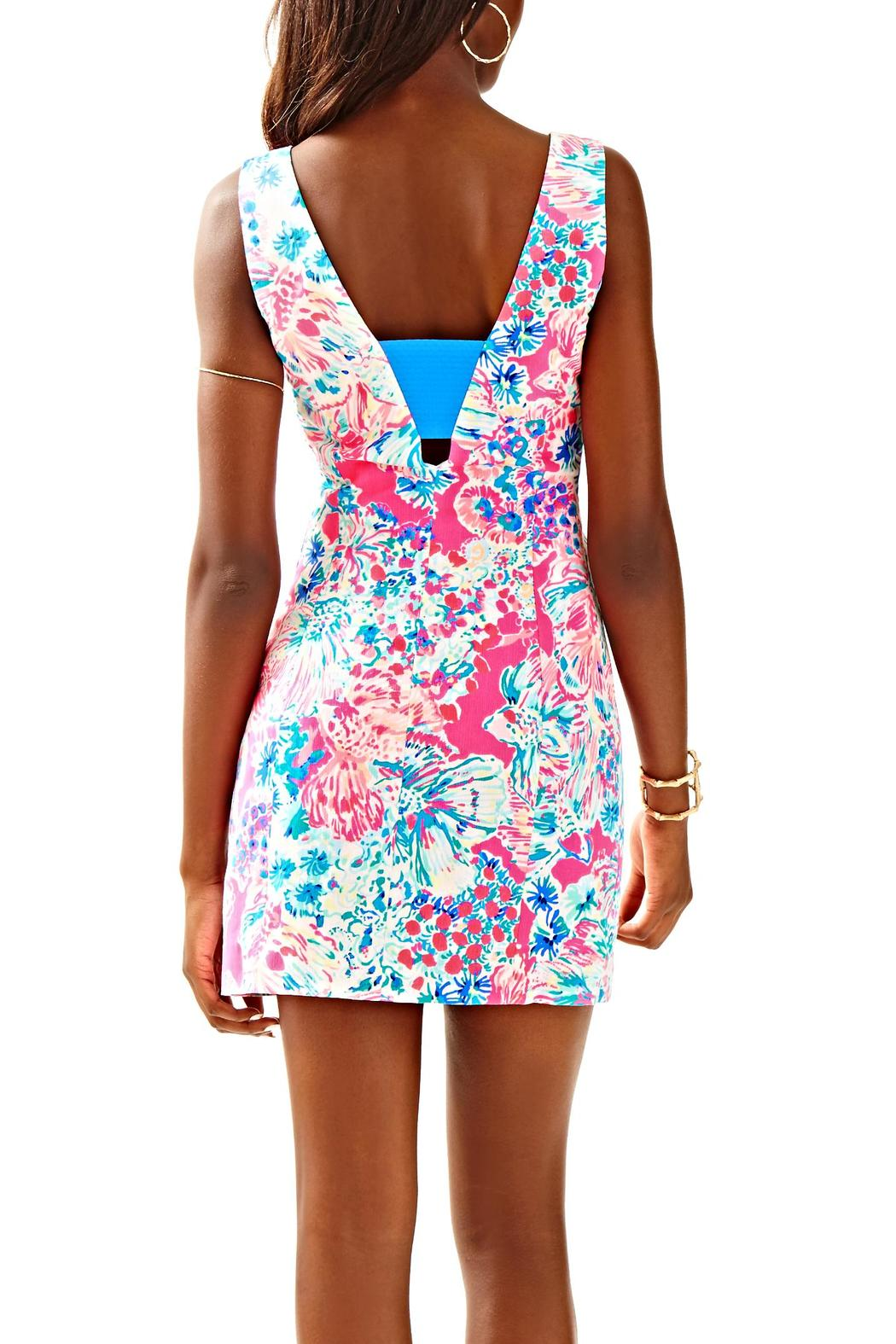 Lilly Pulitzer Cassa Shift Dress - Front Full Image