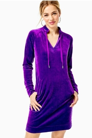 Lilly Pulitzer Cassi Velour Dress - Product Mini Image