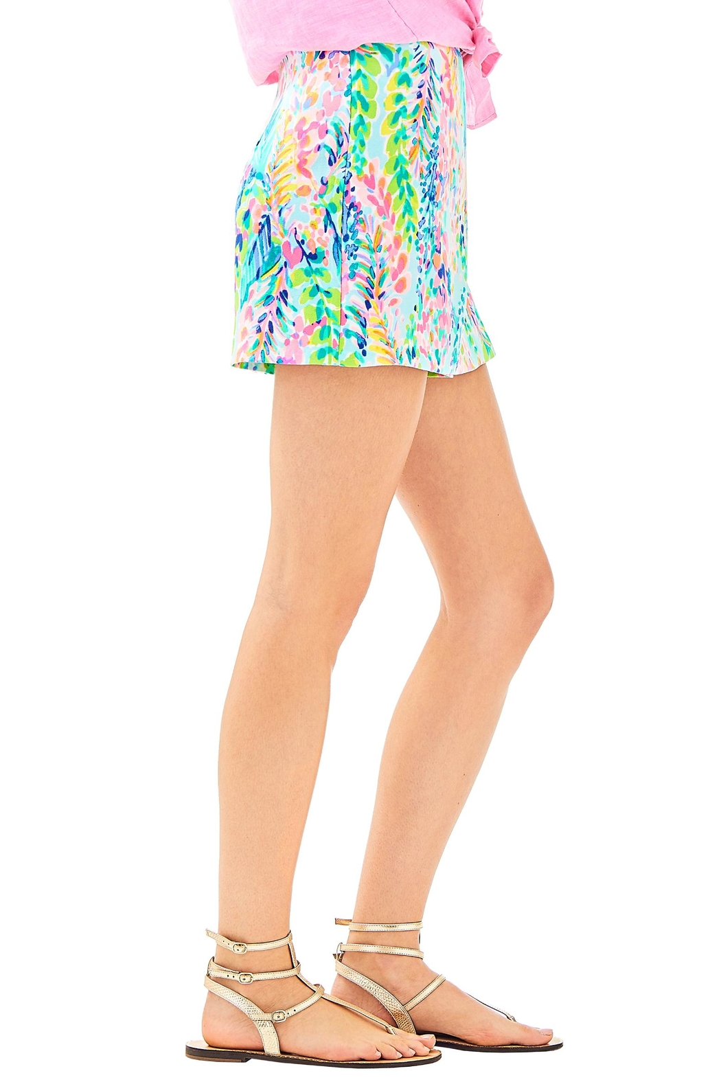 Lilly Pulitzer Cassia Skort - Side Cropped Image