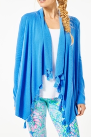 Lilly Pulitzer Catriona Tassel Cardigan - Front cropped