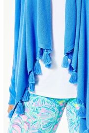 Lilly Pulitzer Catriona Tassel Cardigan - Side cropped