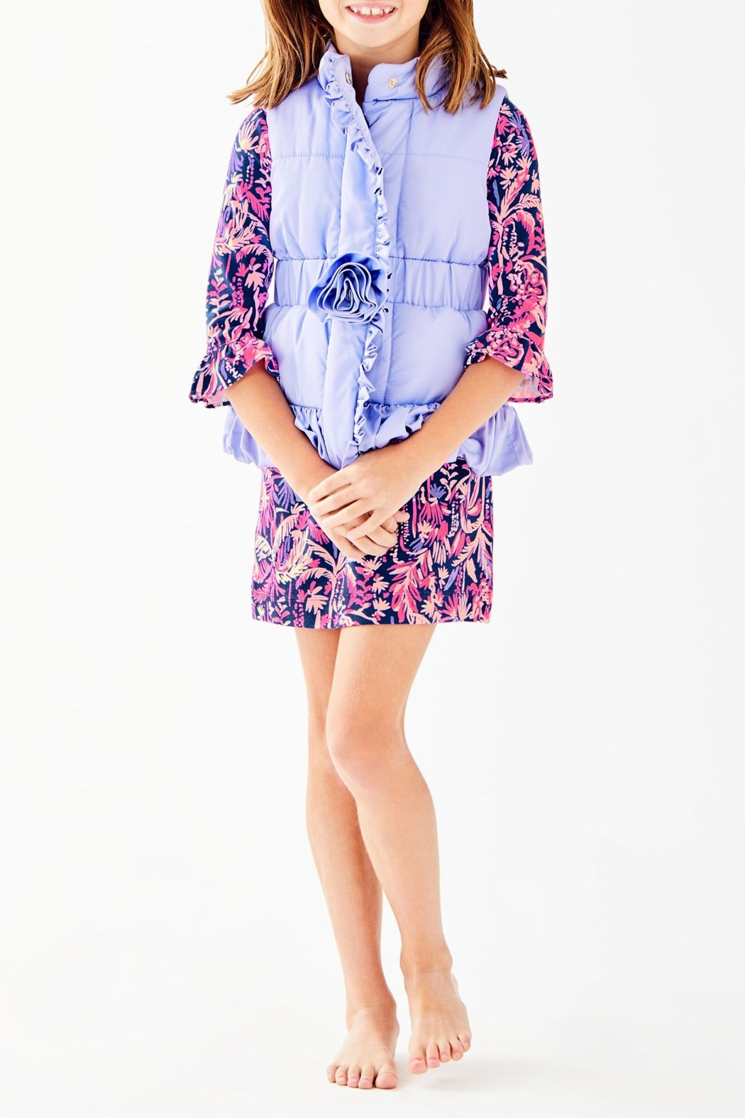 Lilly Pulitzer Caylee Vest - Side Cropped Image
