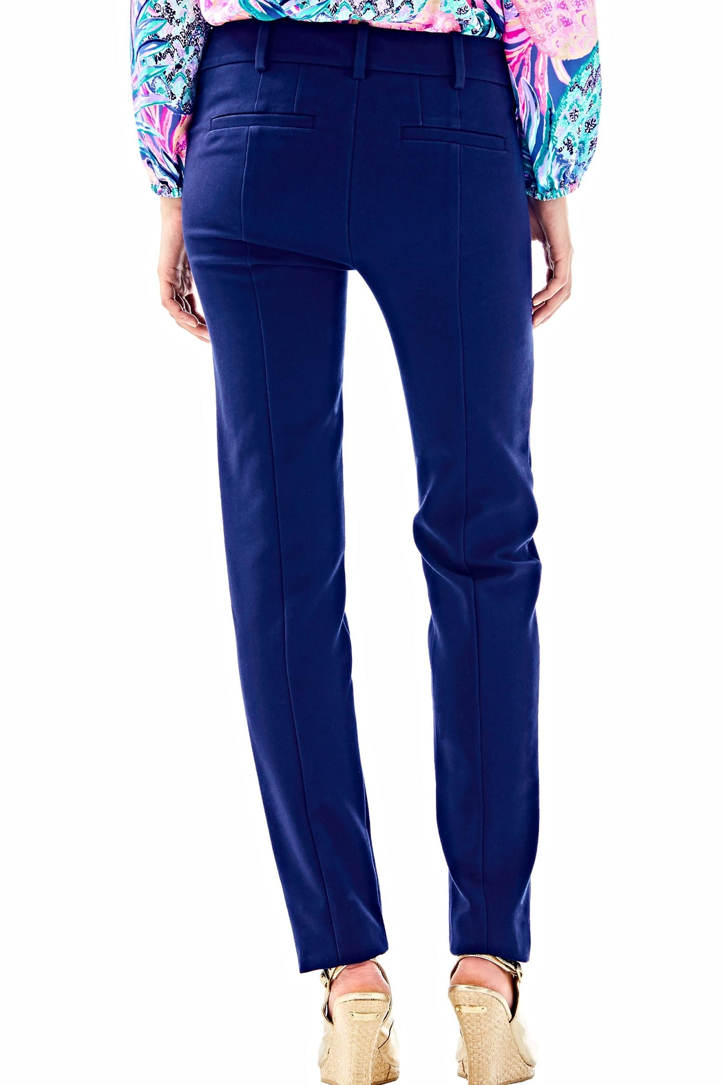 Lilly Pulitzer Chantal Stretch Pant - Front Full Image