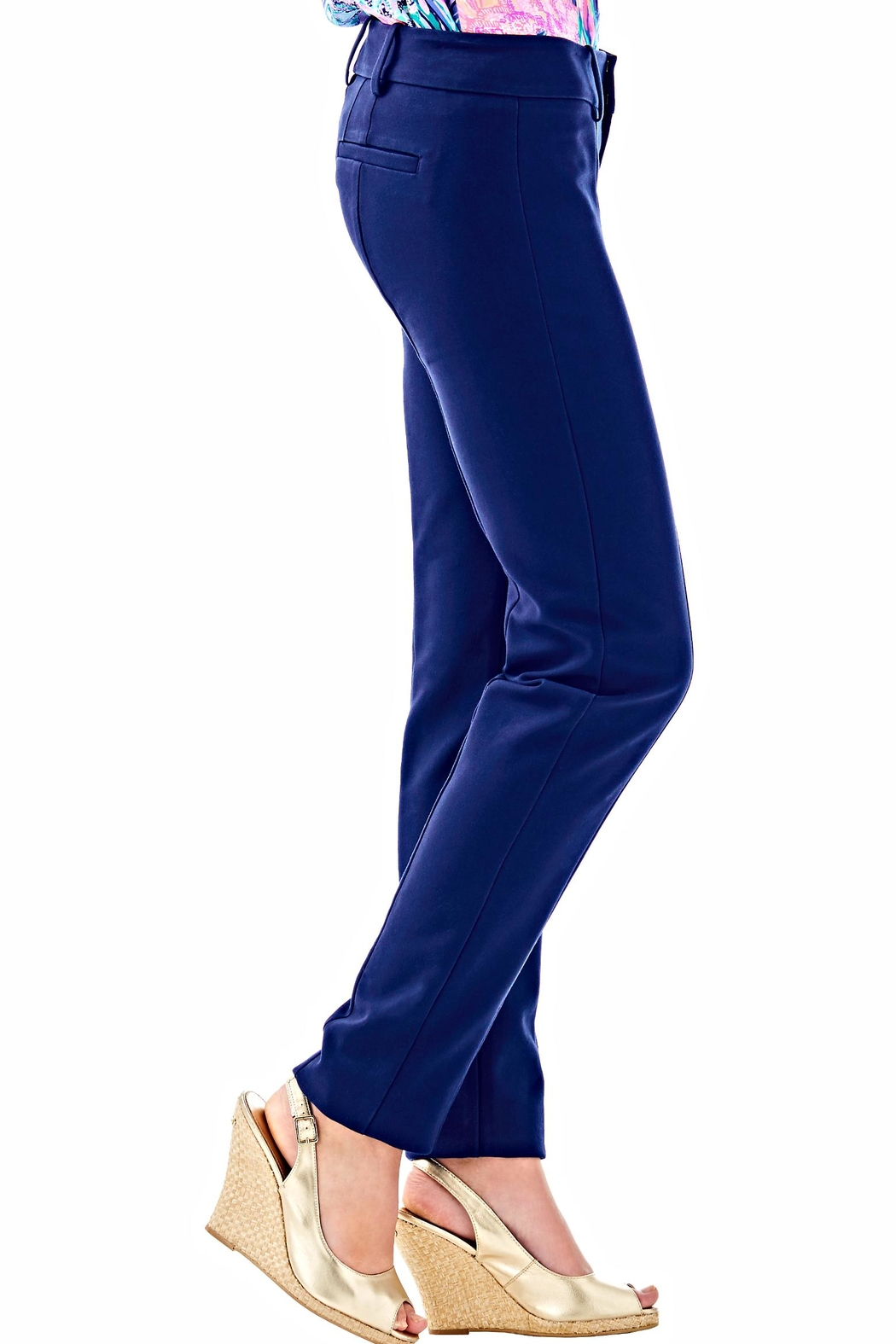 Lilly Pulitzer Chantal Stretch Pant - Side Cropped Image