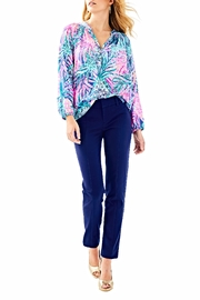 Lilly Pulitzer Chantal Stretch Pant - Back cropped