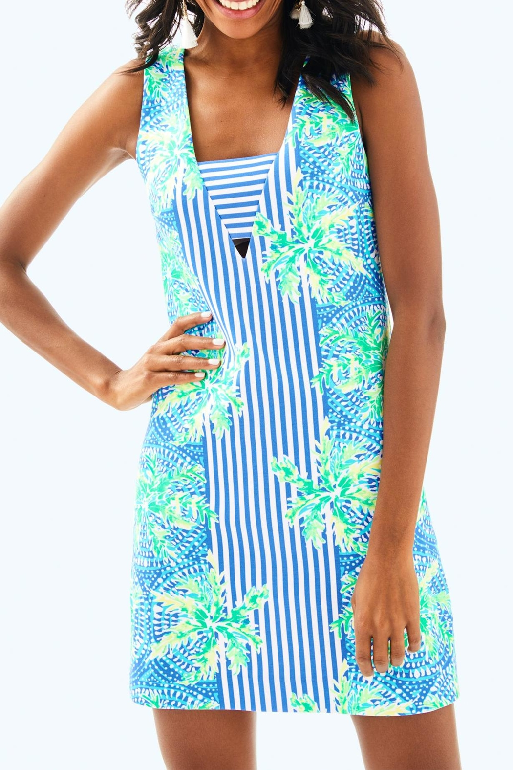 Lilly Pulitzer Chiara Shift Dress - Front Cropped Image