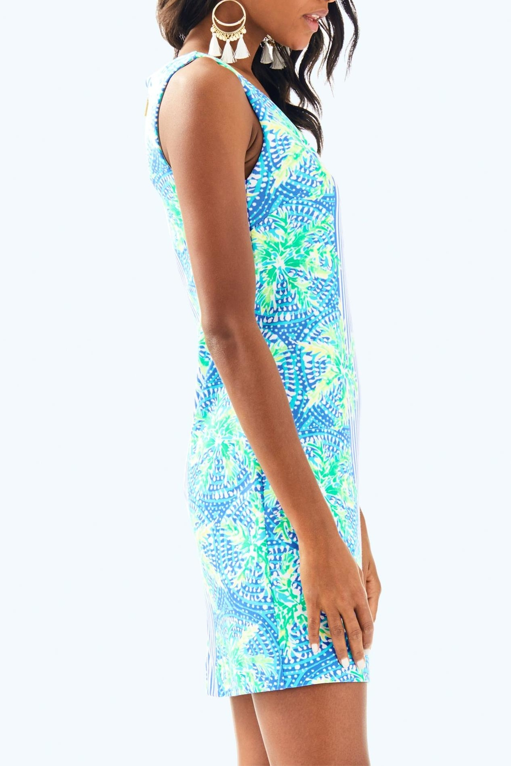 Lilly Pulitzer Chiara Shift Dress - Side Cropped Image