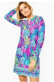 Lilly Pulitzer Chillylilly Andrienne Dress - Product Mini Image