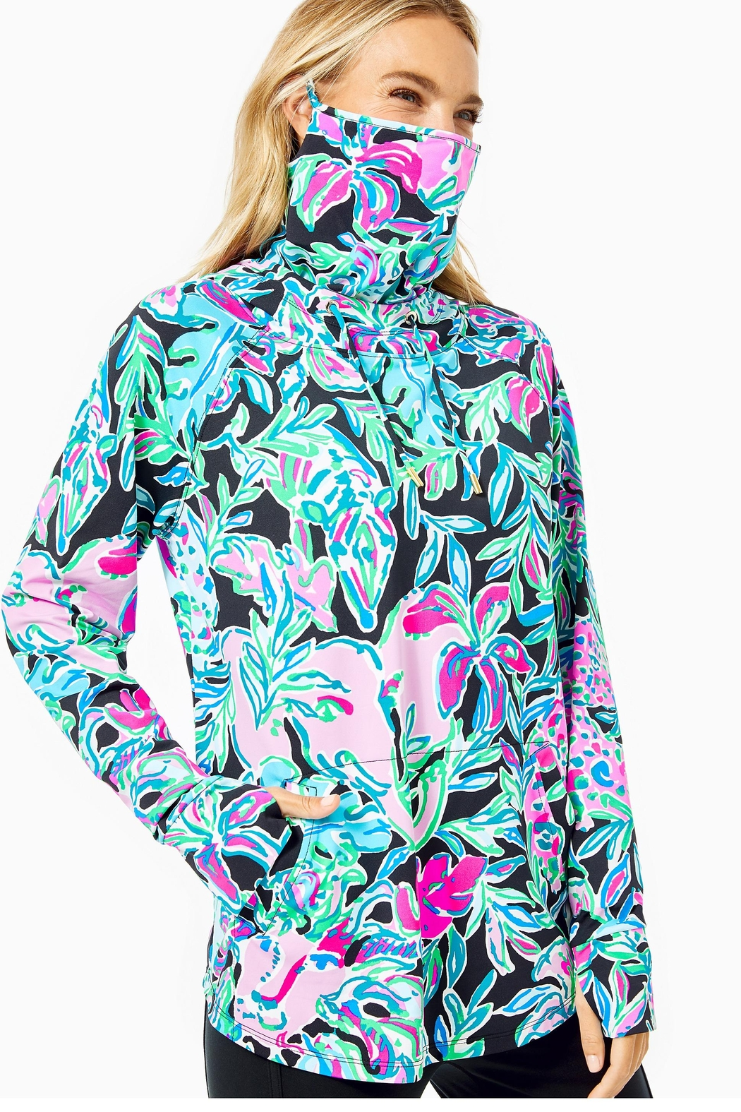 Lilly Pulitzer Chillylilly Lilblock Popover - Main Image