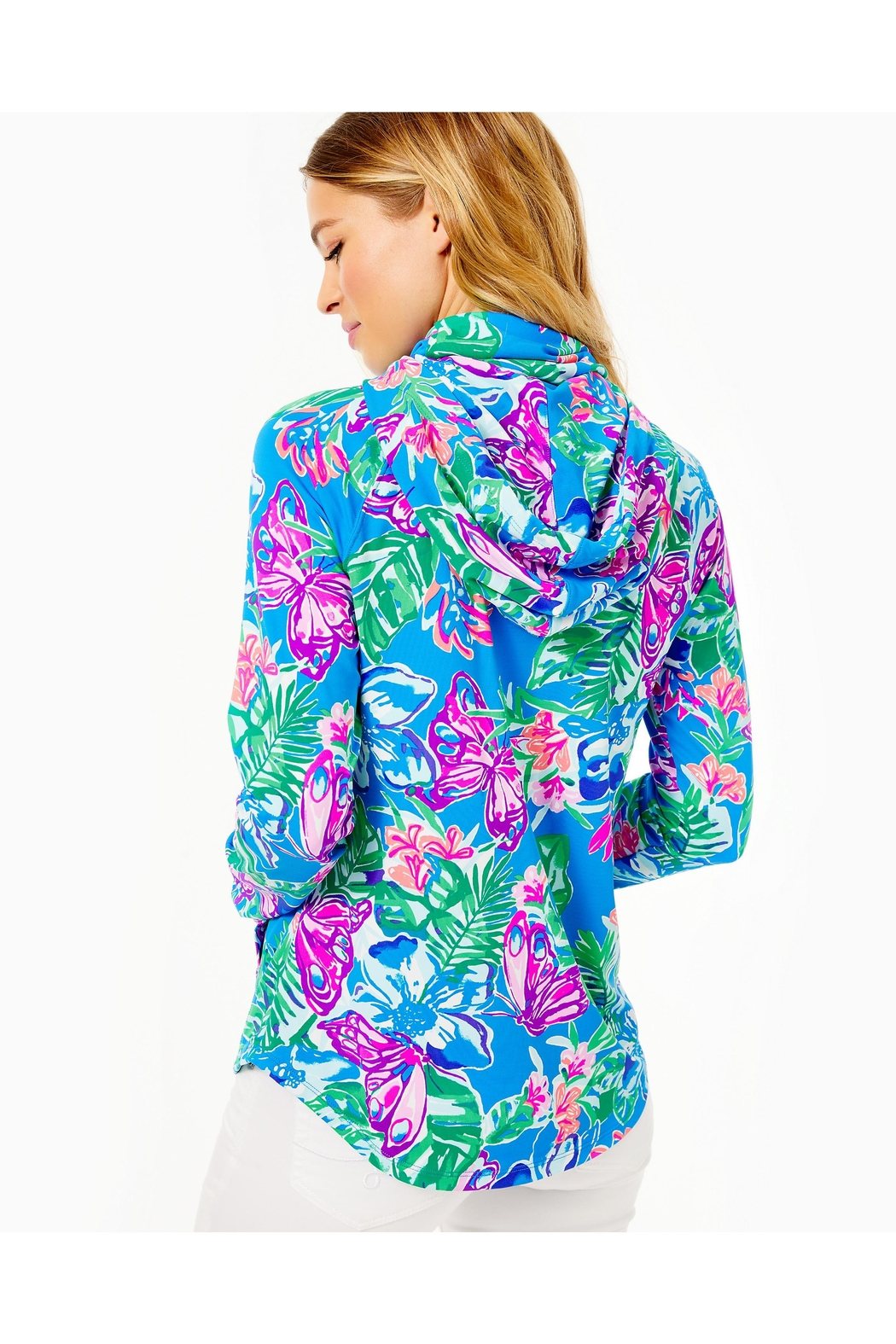 Lilly Pulitzer Chillylilly Lilblock Popover - Front Full Image