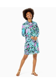 Lilly Pulitzer Chillylilly Lilshield Dress - Back cropped