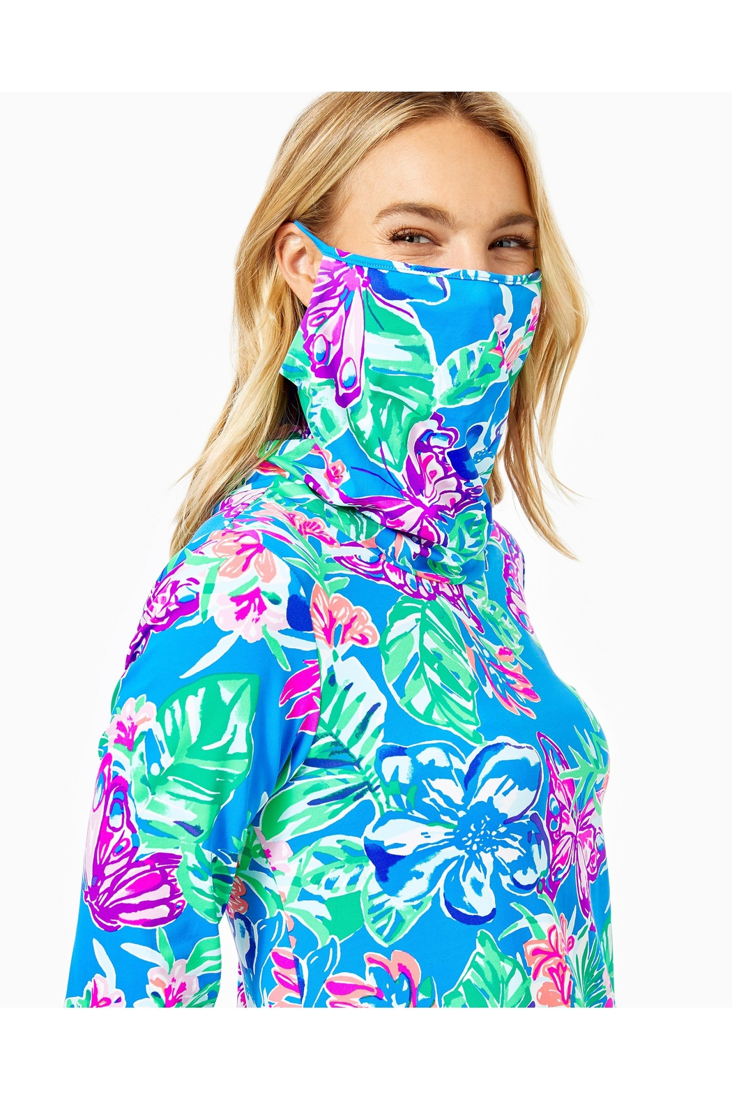 Lilly Pulitzer Chillylilly Lilshield Dress - Side Cropped Image