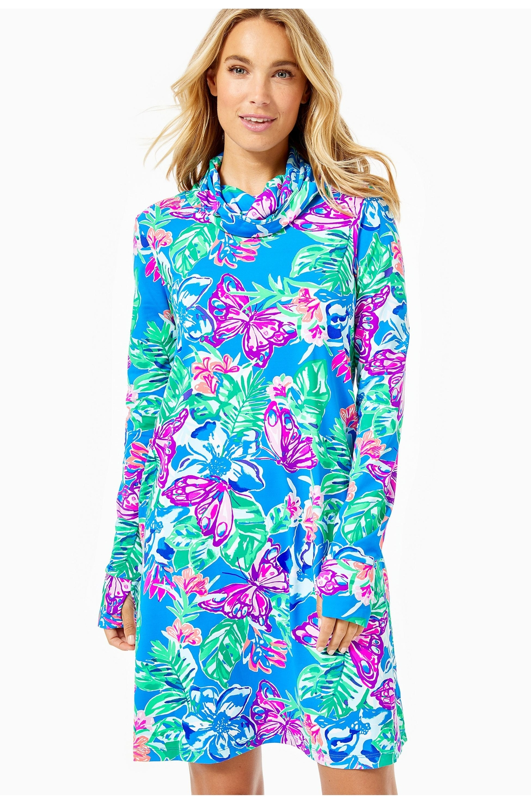 Lilly Pulitzer Chillylilly Lilshield Dress - Main Image