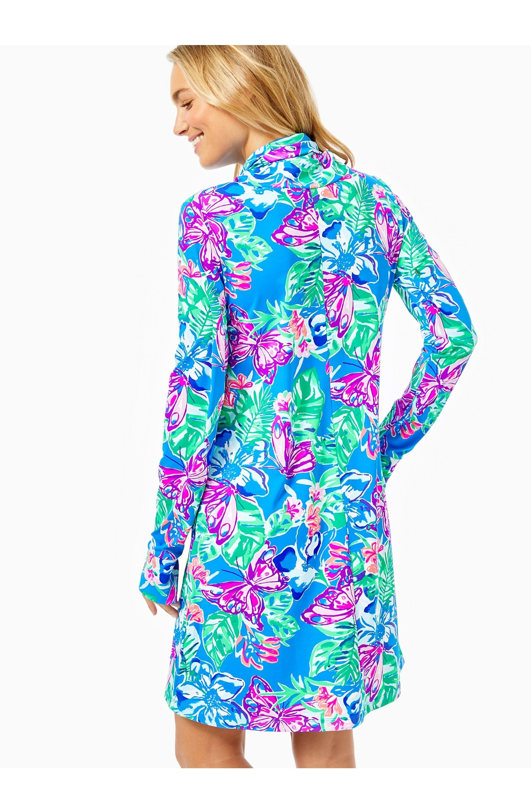 Lilly Pulitzer Chillylilly Lilshield Dress - Front Full Image