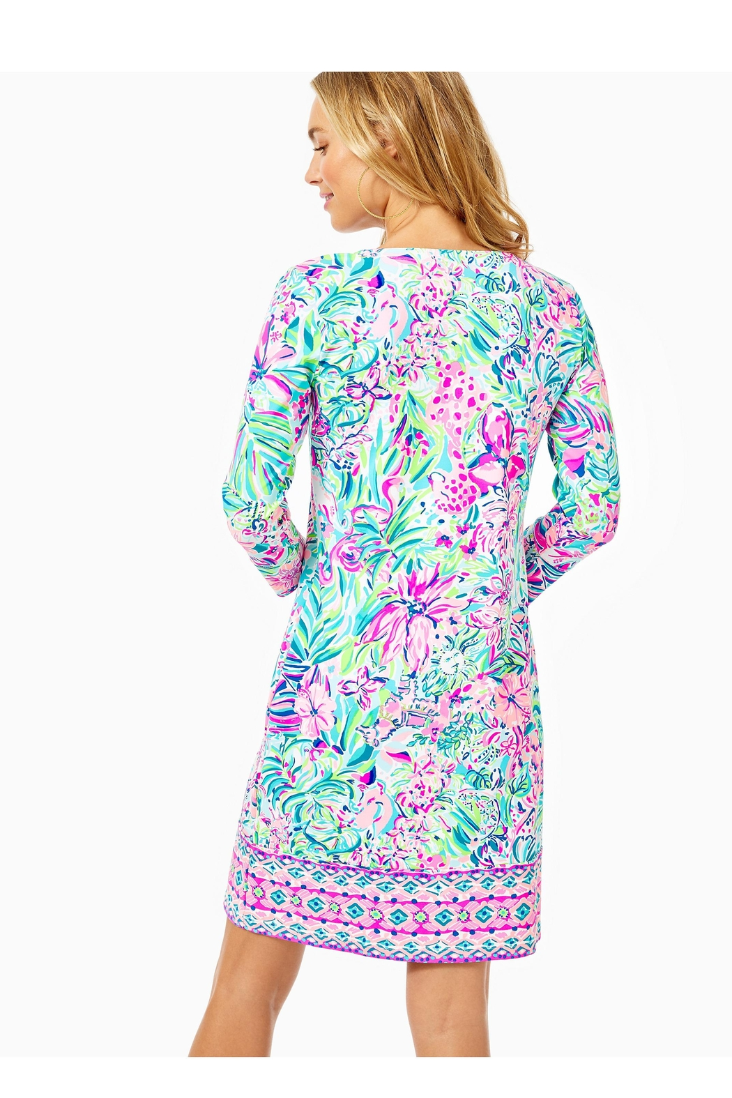 Lilly Pulitzer Chillylilly Nadine Dress - Front Full Image