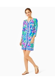 Lilly Pulitzer Chillylilly Nadine Dress - Back cropped