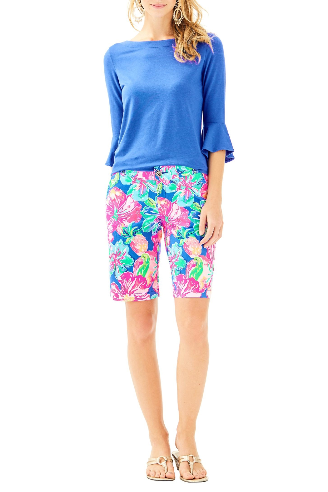 Lilly Pulitzer Chipper Short - Back Cropped Image