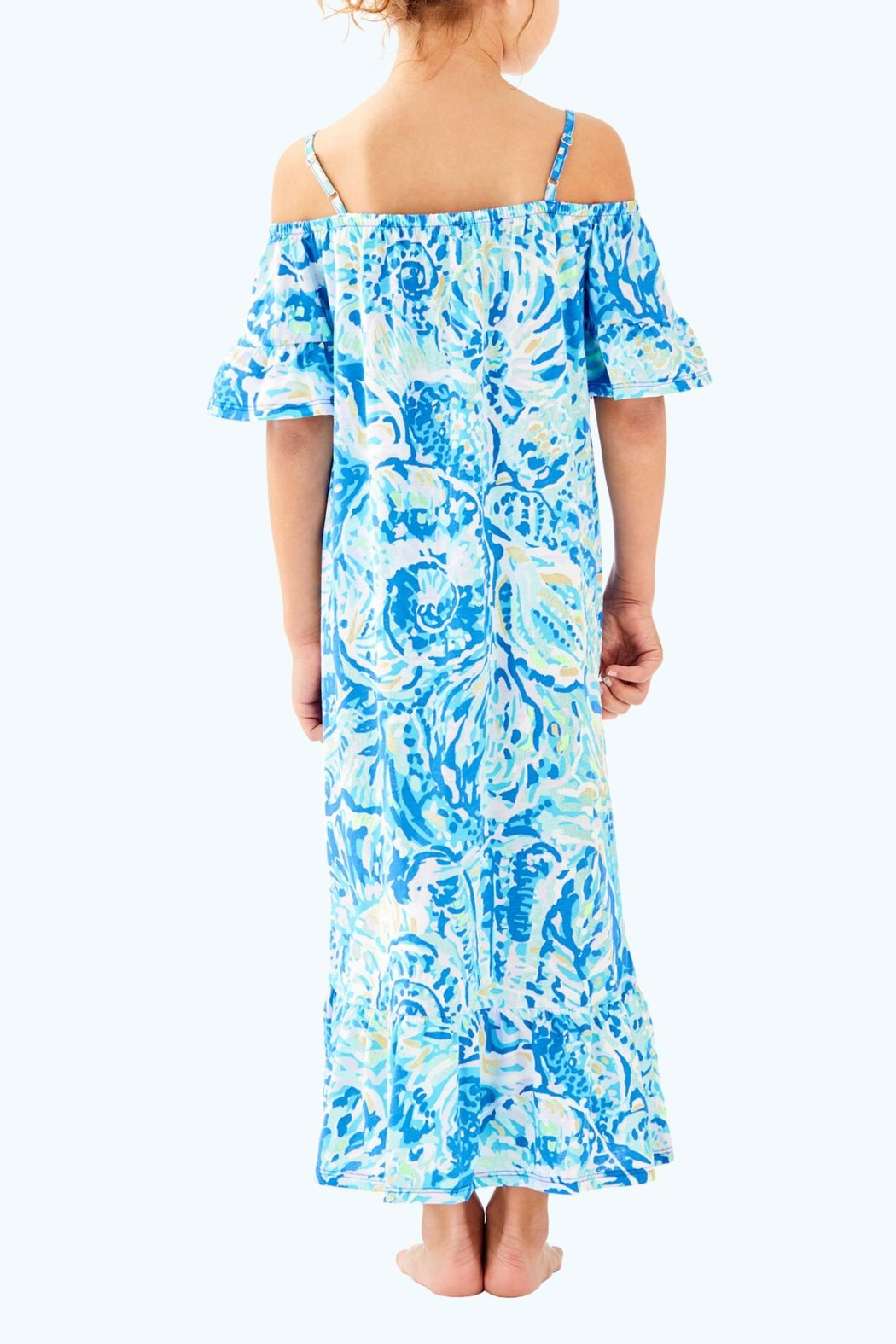 Lilly Pulitzer Clary Maxi Dress - Front Full Image