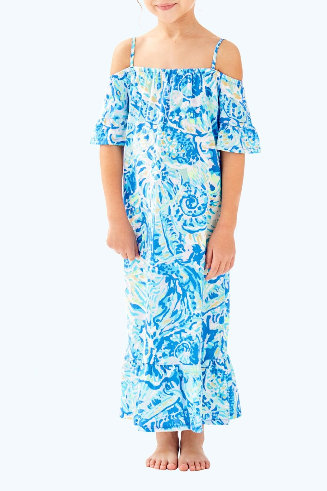 Lilly Pulitzer Clary Maxi Dress - Front Cropped Image