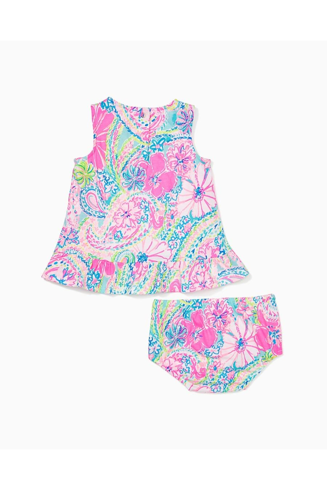 Lilly Pulitzer Claudia Infant Dress - Side Cropped Image