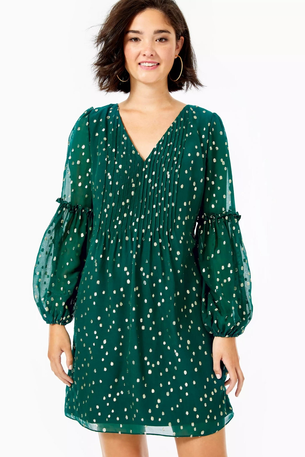 Lilly Pulitzer Cleme Silk Dress - Main Image