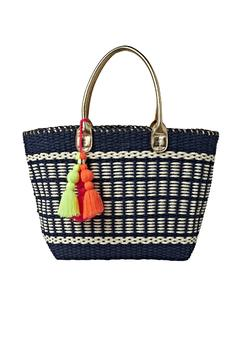 Shoptiques Product: Coastal Straw Tote Bag