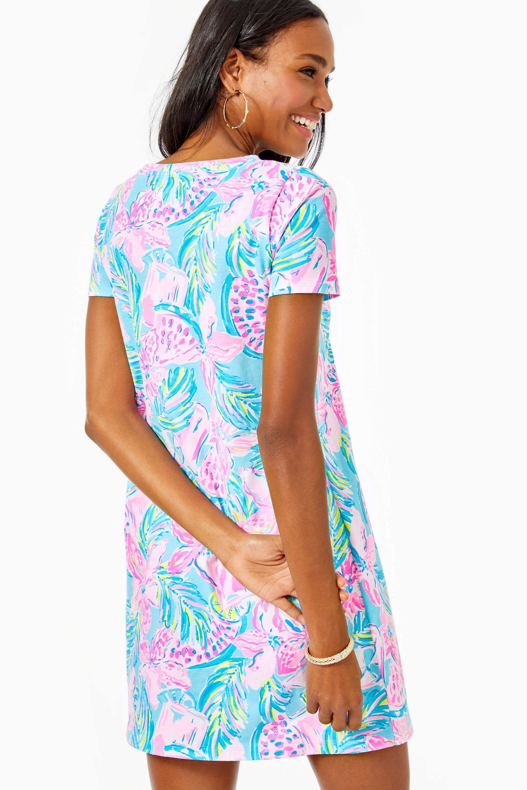 Lilly Pulitzer Cody T-Shirt Dress - Front Full Image