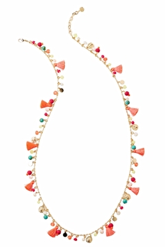 Lilly Pulitzer Confetti Tassel Necklace - Alternate List Image
