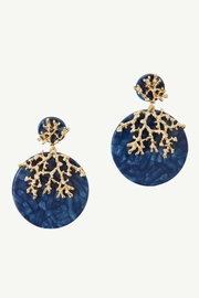 Lilly Pulitzer Coral Cove Earrings - Front cropped
