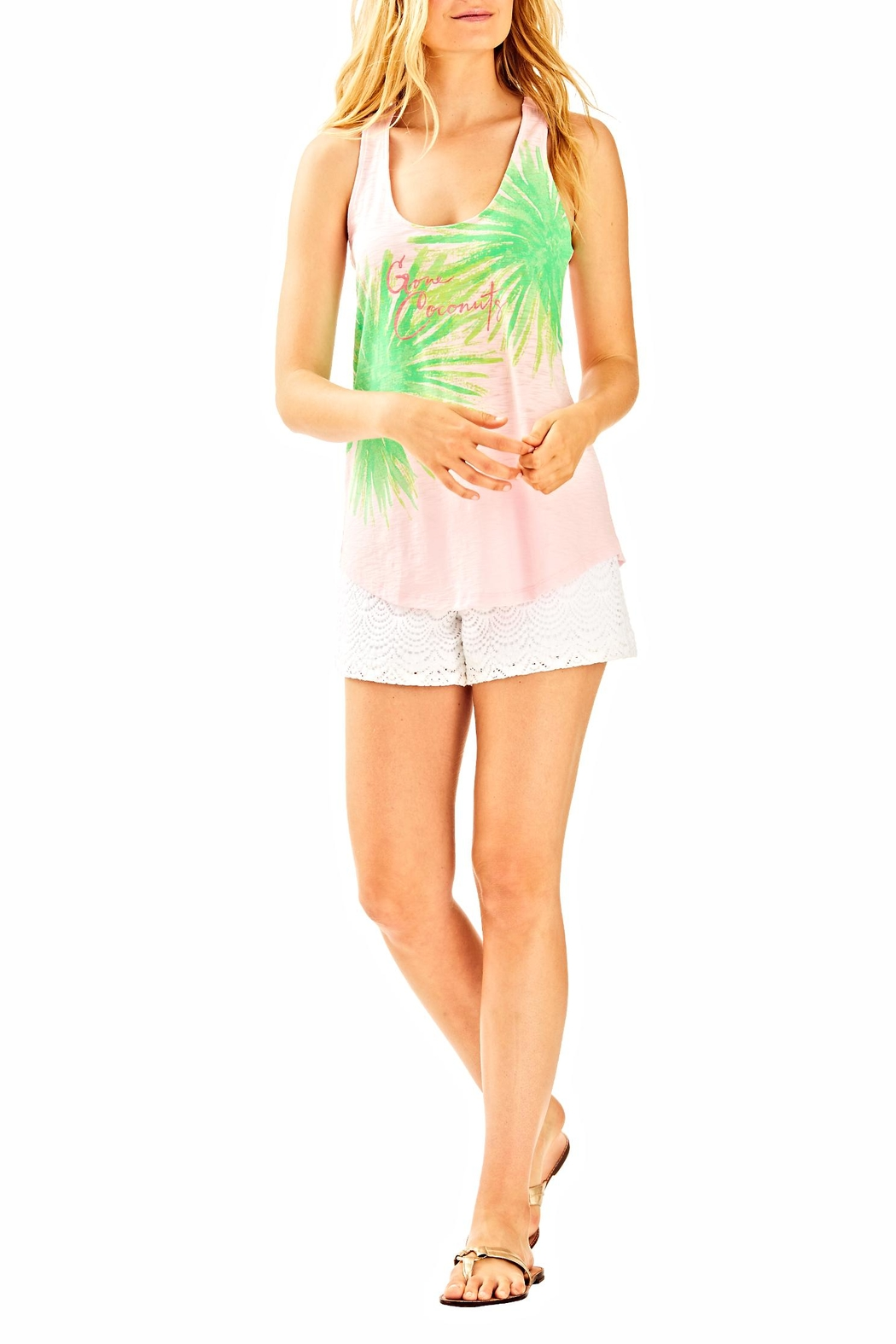 Lilly Pulitzer Cordelia Top - Side Cropped Image