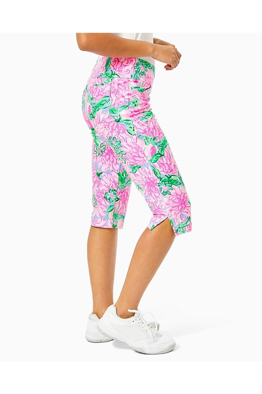 Lilly Pulitzer Corso Capri Pant - Side Cropped Image