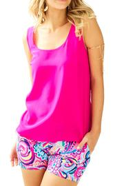 Lilly Pulitzer Cosmos Silk Top - Product Mini Image