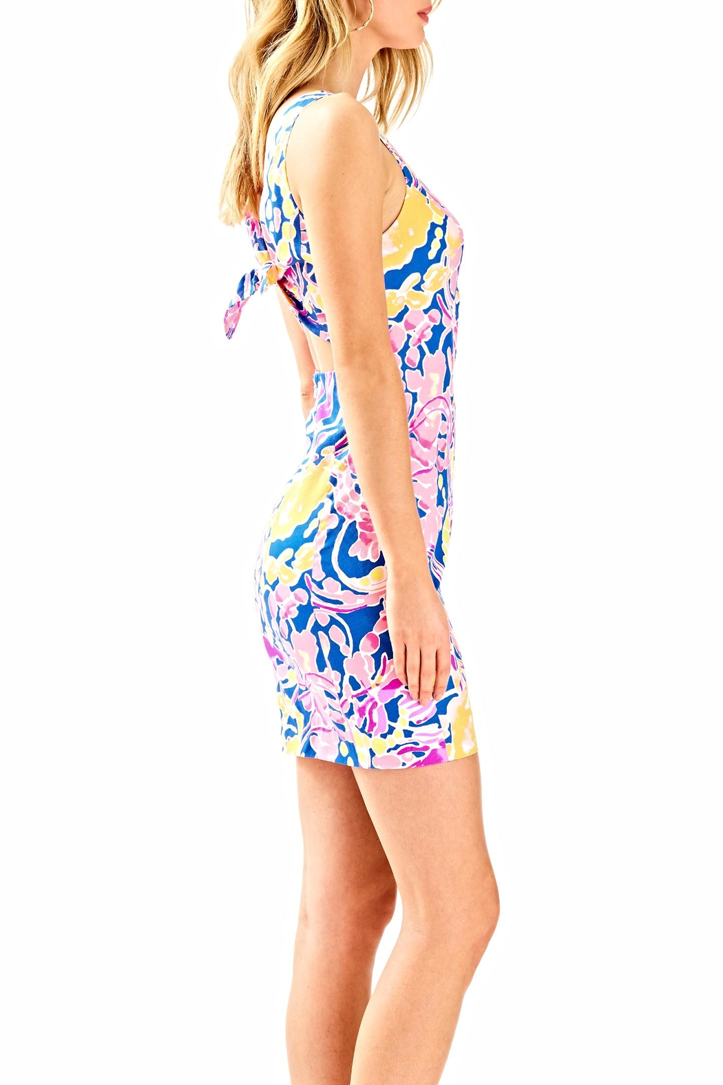 Lilly Pulitzer Courtney Bodycon Dress - Side Cropped Image