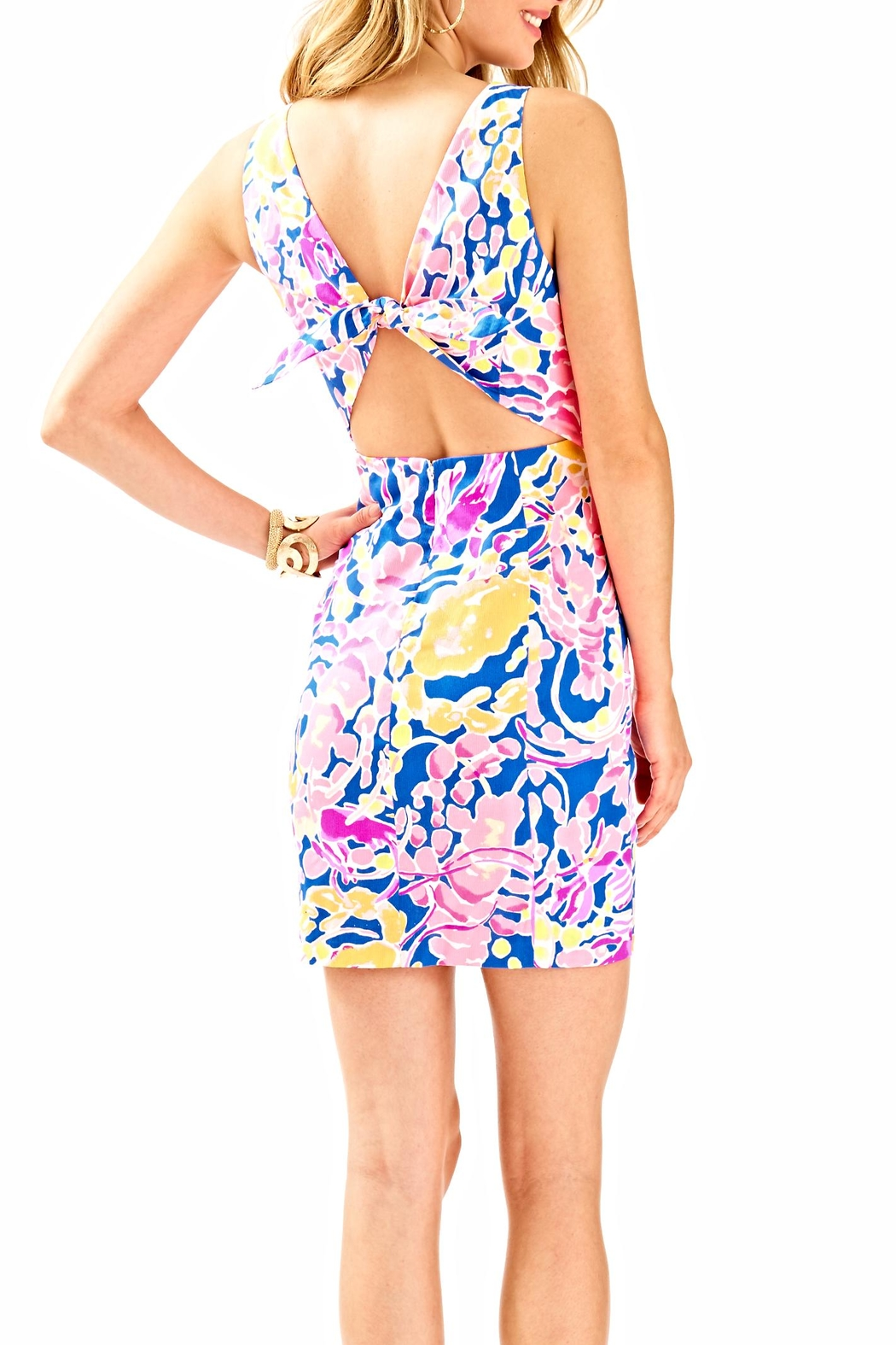 Lilly Pulitzer Courtney Bodycon Dress - Front Full Image