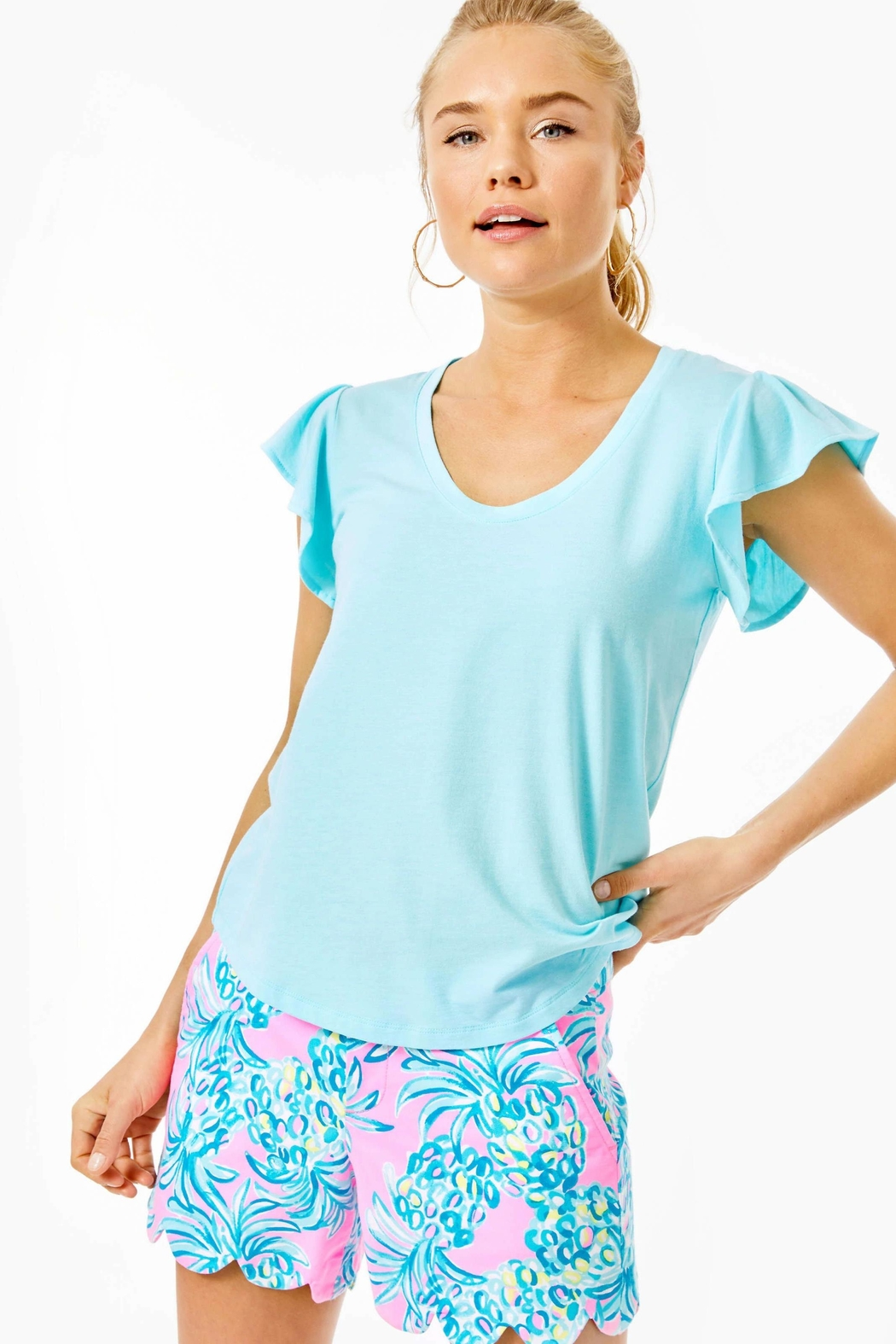Lilly Pulitzer Crawford Top - Main Image