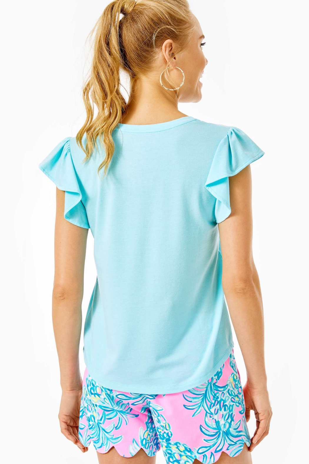 Lilly Pulitzer Crawford Top - Front Full Image