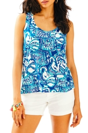 Lilly Pulitzer Crayton Racerback Tank Top - Product Mini Image