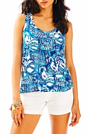 Lilly Pulitzer Crayton Tank Top - Product Mini Image