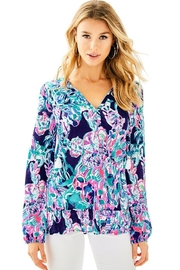 Lilly Pulitzer Daisy Knit Top - Product Mini Image