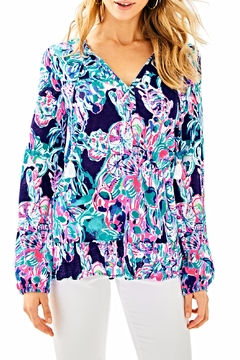 Lilly Pulitzer Daisy Knit Top - Product List Image