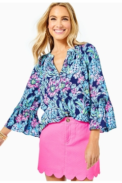 Lilly Pulitzer Dakota Button-Down Top - Product List Image