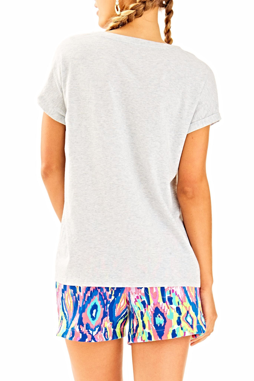 Lilly Pulitzer Daley Tee - Front Full Image