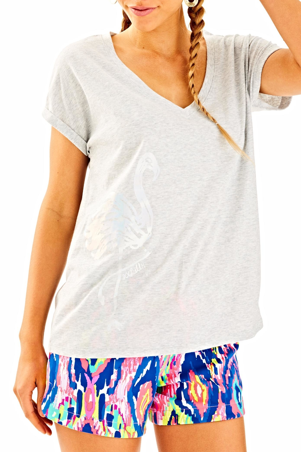 Lilly Pulitzer Daley Tee - Main Image