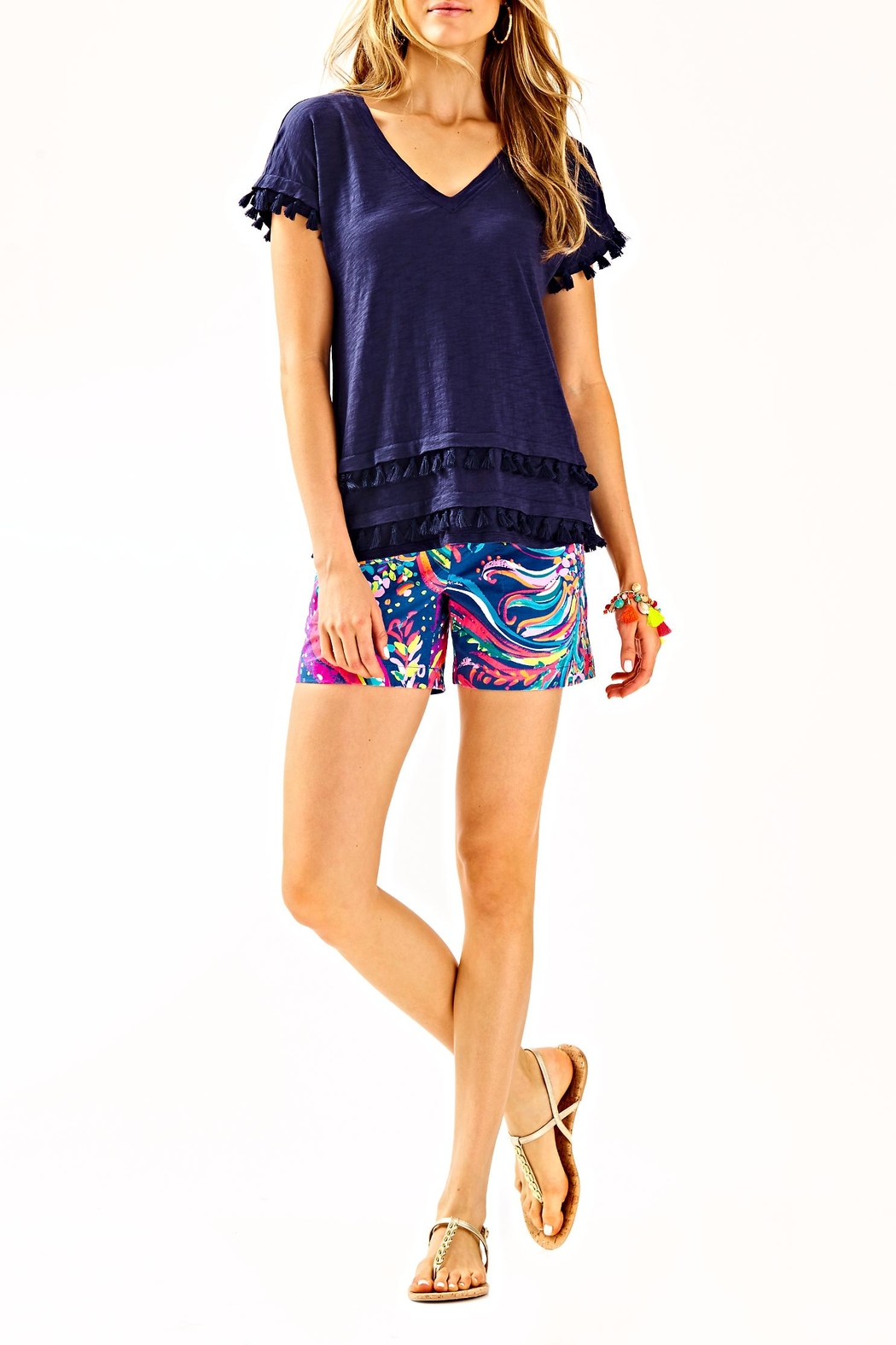 Lilly Pulitzer Daley Tee - Side Cropped Image